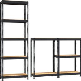 Мебель для учреждений - Стеллаж металлический PROFIL1800х900х450/5, 0