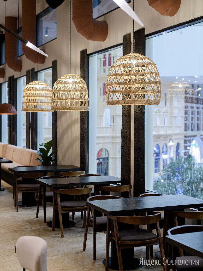 Светильник абажур плетеный  по цене 4650₽ - Люстры и потолочные светильники, фото 0