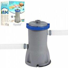 Прочие аксессуары - Картриджный фильтр-насос 3028л/ч, картридж тип II, 45W, 0