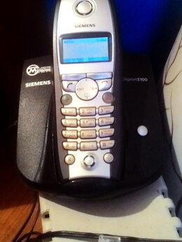 Проводные телефоны - Телефон домашний Siemens Gigaset S100, 0