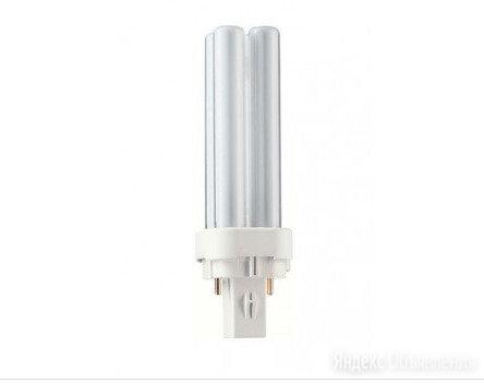 лампа Philips master PL-C 18W/21-840 G24d-2 по цене 55₽ - Лампочки, фото 0