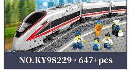 Конструкторы - Конструктор Пассажирский электропоезд KY98229, 0