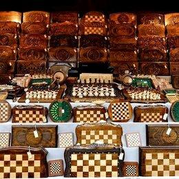 Настольные игры - нарды шахматы, 0