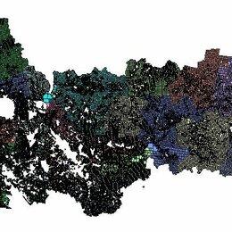 Карты и программы GPS-навигации - Квартальная сетка лесов Вологодская обл., 0