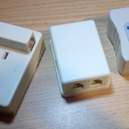 Проводные телефоны - Сплиттер, телефонные розетки, обмен, 0