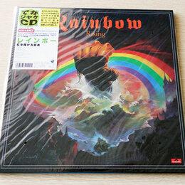 Музыкальные CD и аудиокассеты - Rainbow - Rising - Japan LP-sized Cardboard…, 0