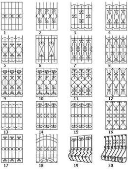 Сетки и решетки - Решетки на окна., 0