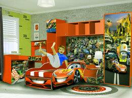 Кроватки - Комплект детской мебели для мальчика машина  , 0
