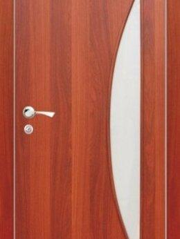 Межкомнатные двери - Межкомнатная дверь Луна остеклённая , 0