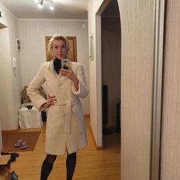 Пальто - Весеннее белое пальто, 0