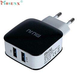 Зарядные устройства и адаптеры - Зарядное устройство UNS-619 3.4A 2 USB, 0
