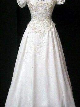 Платья - Свадебное платье 44-46 со шлейфом винтаж 70х , 0