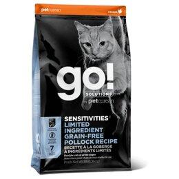 Корма  - Go! Cat Sensitivities Limited Ingredient Pollock…, 0