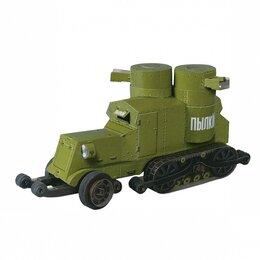 Сборные модели - Бронеавтомобиль Остин-Путиловец (Сборная модель из картона), 0