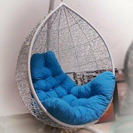 Подвесные кресла - Подвесное кресло ТРОПИКА Белое на стойке с подушкой, 0