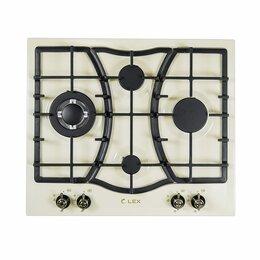 Плиты и варочные панели - LEX GVE 6043C IV LIGHT газовая варочная…, 0