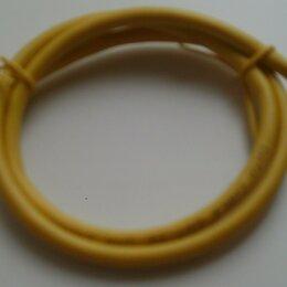 Кабели и разъемы - Кабель сетевой желтый «папа» - «папа», длина 60 см., 0