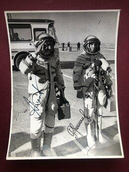 Фотографии и письма -  Афтографы космонавтов. Экипаж космического…, 0