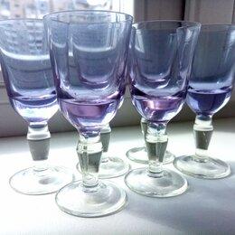 Рюмки и стопки - Рюмки александритовое стекло, 0