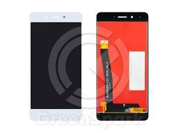 Дисплеи и тачскрины - Дисплей для Huawei Honor 6C DIG-L21HN +тач белый, 0