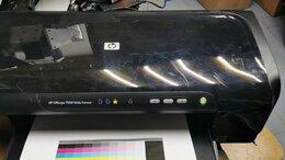 Принтеры и МФУ - Цветной принтер  HP designjet 7000  струйный а3+, 0