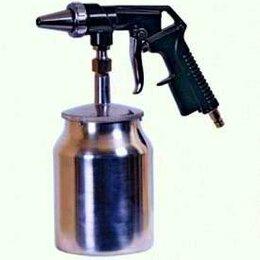 Пневмопистолеты - Пистолет пескоструйный с бачком (Новый) Пескоструй, 0