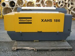 Воздушные компрессоры - компрессор Atlas Copco XAHS 186 Dd, 0