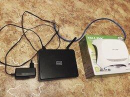 Проводные роутеры и коммутаторы - Wi-Fi роутер TP-link TL-WR720N и d-link 300 DIR, 0