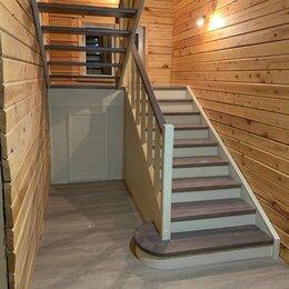 Лестницы и элементы лестниц - Лестница деревянная на второй этаж , 0