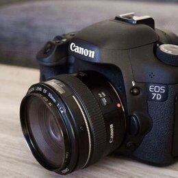 Фотоаппараты - Canon 7d kit 50 1.4, 0