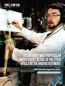 Барабанные палочки, щетки, руты - VIC FIRTH SGAR (Matt Garstka) Палочки…, 0