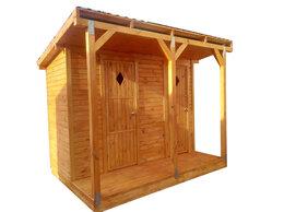 Готовые строения - Хозблок с террасой. Мини-дом. Дачный домик, 0