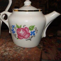 Заварочные чайники - Чайник заварочный фарфоровый, 1960г. , 0