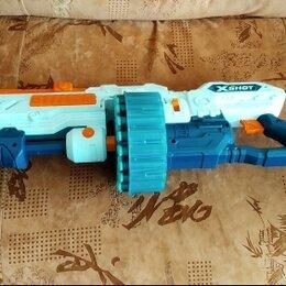 Игрушечное оружие и бластеры - Детский пневматический бластер для стрельбы X-shot, 0