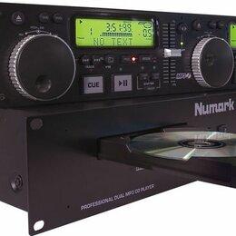Музыкальные CD и аудиокассеты - CD дека Numark MP-302 профессиональная новая, 0