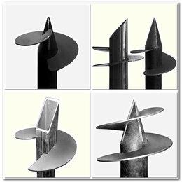 Металлопрокат - Лопасти для винтовых свай от 48 до 325 диаметра гнутые, 0