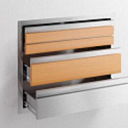 Плетеная мебель - Встраиваемый модуль с тремя выдвижными ящиками [Wood], 0
