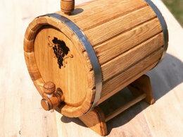 Бочки, кадки, жбаны - Бочка дубовая 8 литров для хранения алкогольных…, 0