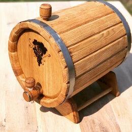 Бочки, кадки, жбаны - Бочка дубовая 8 литров для хранения алкогольных напитков, 0