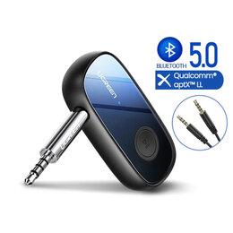 Цифро-аналоговые преобразователи - Bluetooth адаптер 3.5мм (AUX) Hi-Fi без задержки, 0