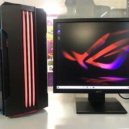 Настольные компьютеры - Intel I7 12 л.ядер 16GB SSD128 HDD500 RX580 8Gb, 0
