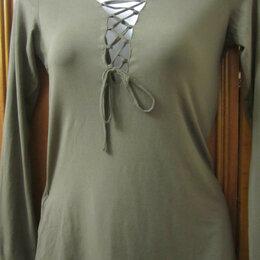 Блузки и кофточки - Блузка трикотажная . Новая, 0