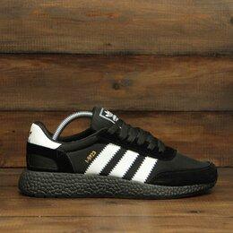 Кроссовки и кеды - Кроссовки Adidas Iniki black (А116) , 0