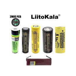 Батарейки - Литий-ионные аккумуляторы (li-ion) 18650, 21700, 26650, 0