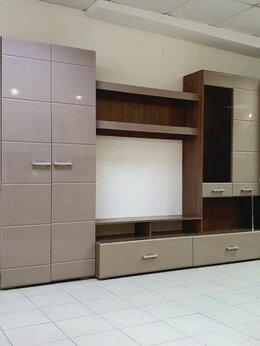 Шкафы, стенки, гарнитуры - Гостиная Вегас-1 (Ясень шимо темный/Кофе с…, 0