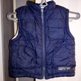 Куртки и пуховики - Куртка-жилет (безрукавка) утеплённая на мальчика, 0