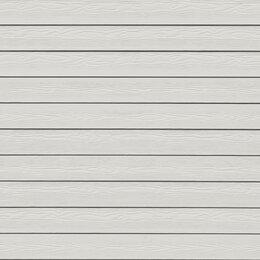 Сайдинг - Фиброцементная доска Кедрал цвет Белый минерал, 0