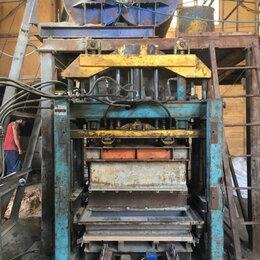 Строительство - Вибропресс автомат для производства бордюра , брусчатки и стеновых блоков, 0