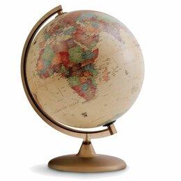 """Глобусы - Глобус античный TECNODIDATTICA """"Discovery"""" (Италия), диаметр 300 мм, с подсве..., 0"""