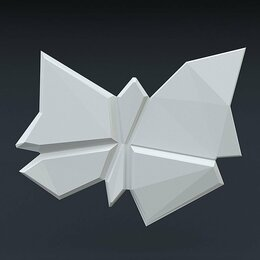 Стеновые панели - Зд панель Бабочка, 0
